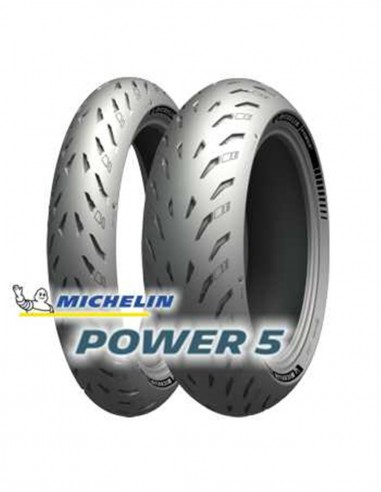 Michelin Power 5 120/70-17 + 180/55-17
