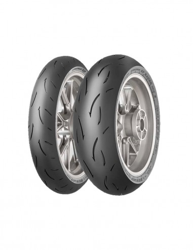 Pack Neumáticos Dunlop D212 + Manómetro