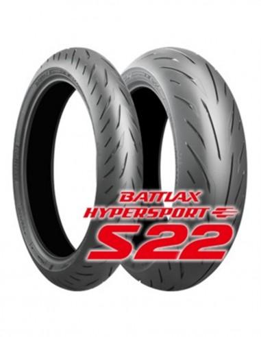 Pack Neumáticos Bridgestone S22...